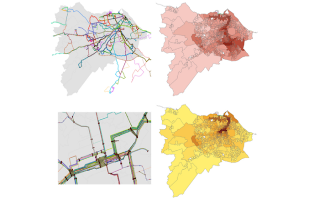 SNAPTA - Spatial Network Analysis of Public Transport Accessibility