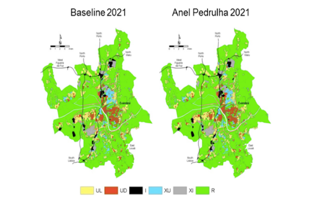 UrbCA - Celular Automata Modeling for Accessibility Appraisal in Spatial Plans